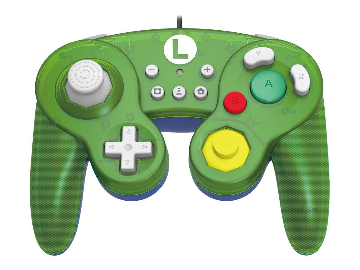 HORI Battle Pad (Luigi) - Game Pad - kabelgebunden - für Nintendo Switch