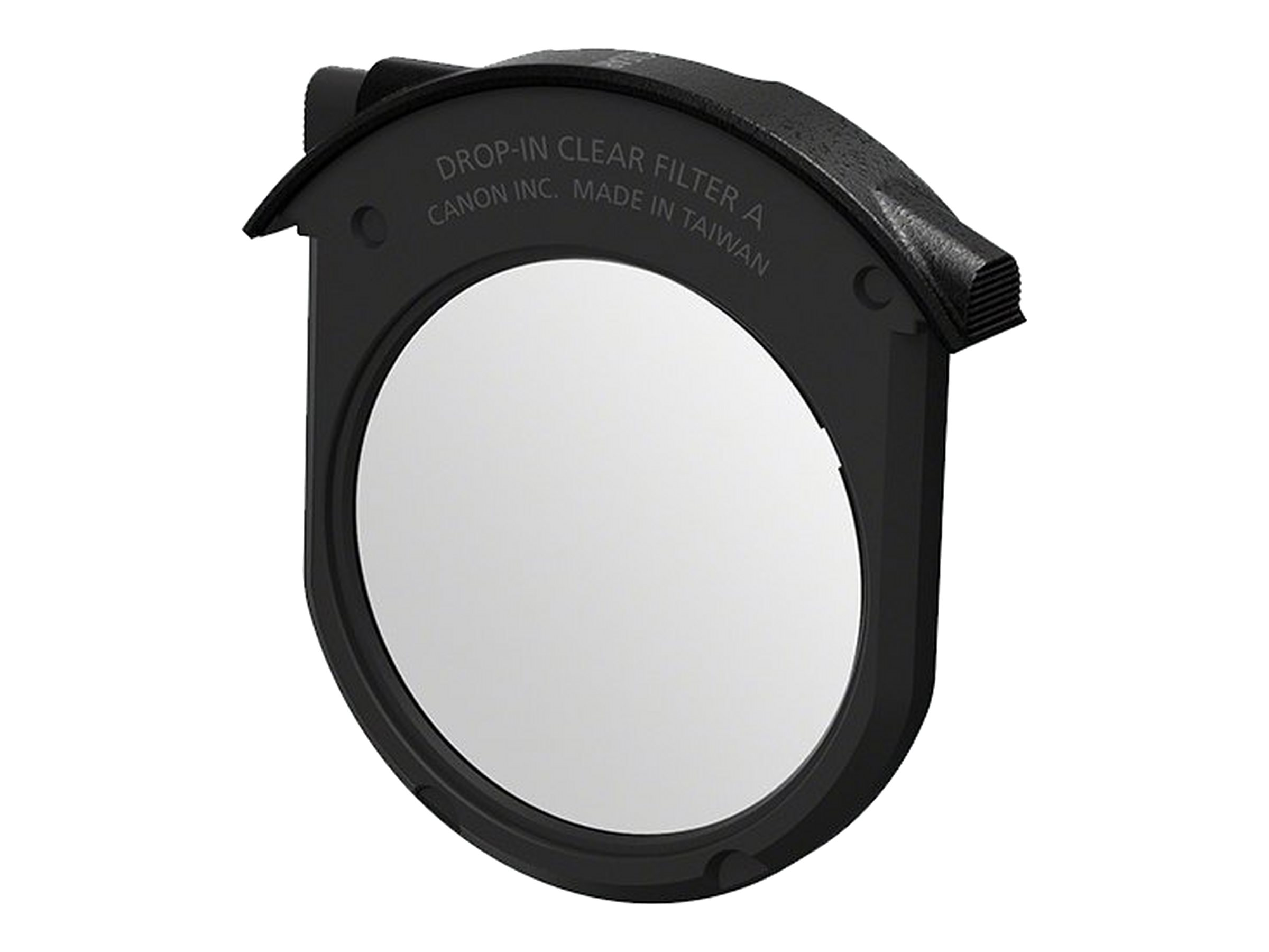 Canon Drop-in Clear Filter A - Filter - klar - für Canon Drop-in Circular Polarizing Filter A, Drop-In Variable ND Filter A