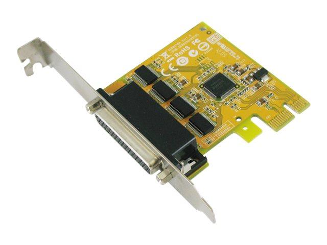 Sunix SER6456A - Serieller Adapter - PCIe 2.0 - RS-232 x 4
