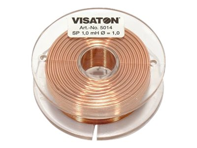 Visaton SP 1.0 mH / 0.6 mm - Induktionsspule
