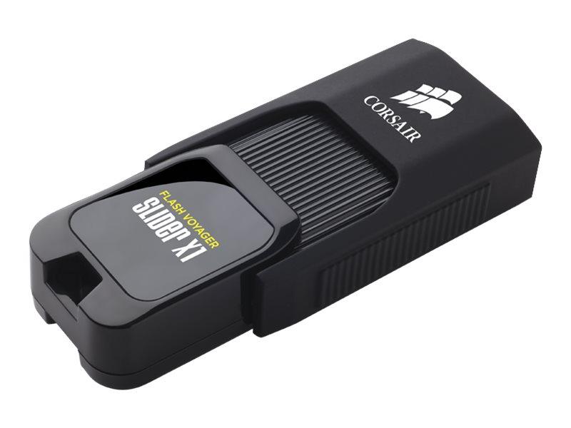 Corsair Flash Voyager Slider X1 - USB-Flash-Laufwerk - 64 GB - USB 3.0