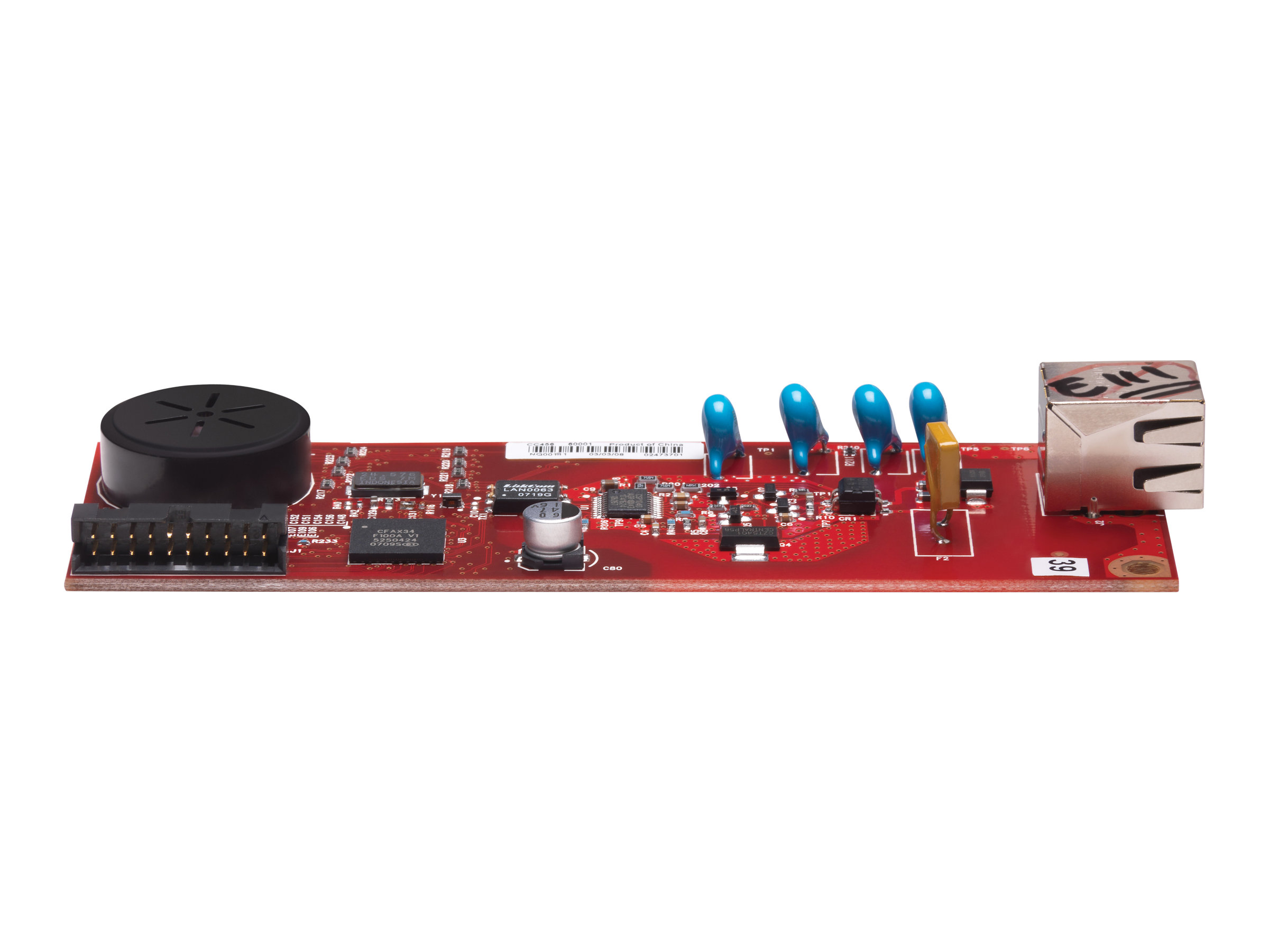 HP Analog Fax Accessory 600 - Fax-Schnittstellenkarte - für Color LaserJet Managed Flow MFP E57540; LaserJet Managed MFP E52545,