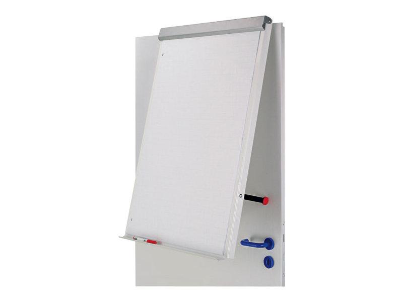 MAUL - Whiteboard - geeignet für Wandmontage, Türbefestigung - 700 x 1000 mm - Stahl - magnetisch