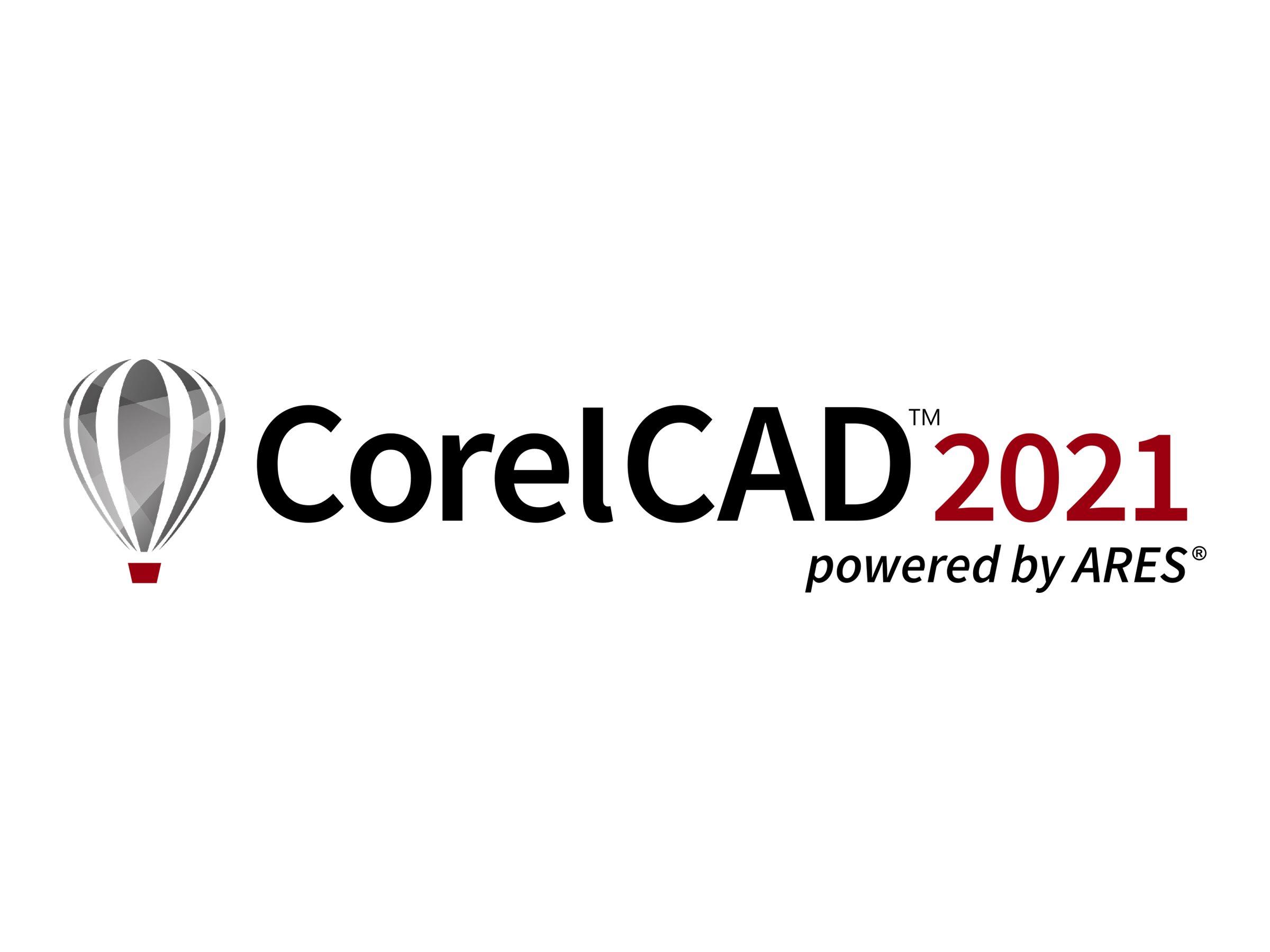 CorelCAD 2021 - Upgrade-Lizenz - 1 Benutzer - Win, Mac - Multi-Lingual
