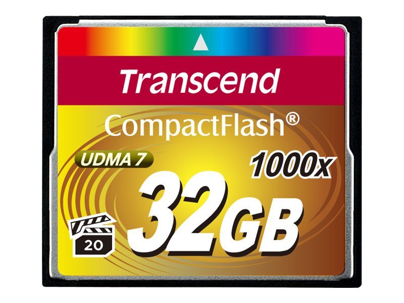 Transcend Ultimate - Flash-Speicherkarte - 32 GB - 1000x - CompactFlash