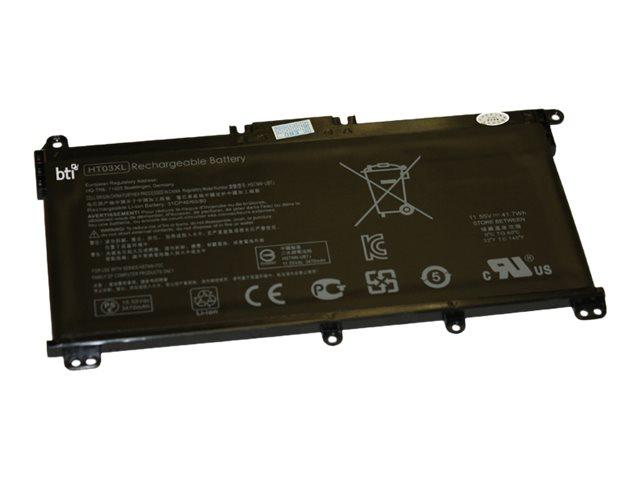 BTI - Laptop-Batterie - 1 x Lithium-Polymer 4 Zellen 3470 mAh - für HP Pavilion 14-ce0000, 14-ce0014