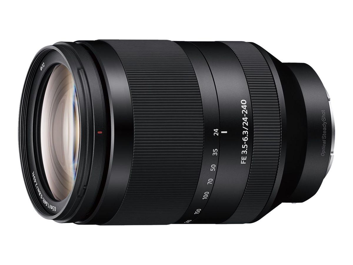 Sony SEL24240 - Zoomobjektiv - 24 mm - 240 mm - f/3.5-6.3 FE OSS - Sony E-mount