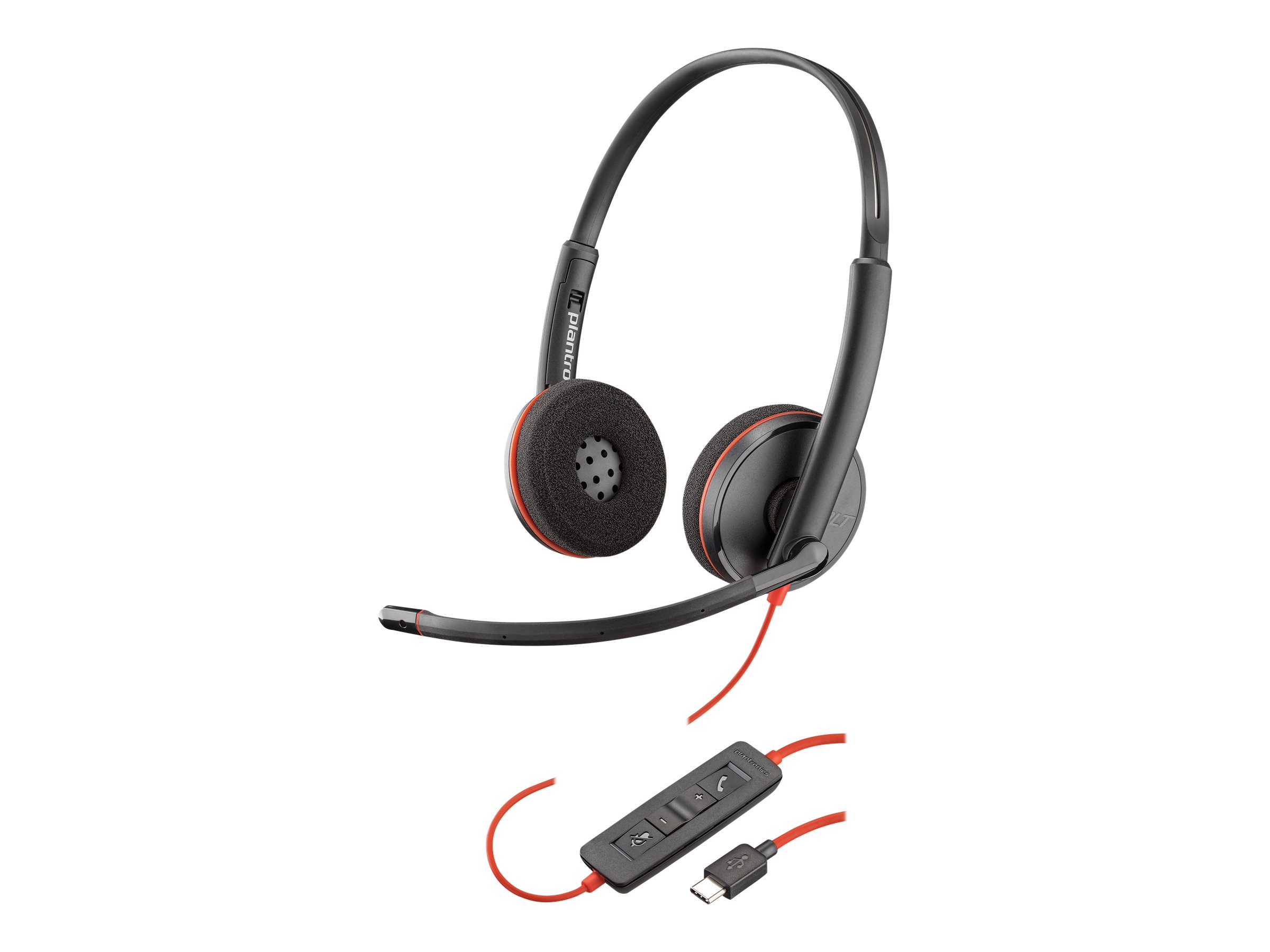 Poly Blackwire C3220 USB - 3200 Series - Headset - On-Ear - kabelgebunden - USB