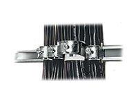 Rittal - Klemme für Kabel-Organizer (Packung mit 25)