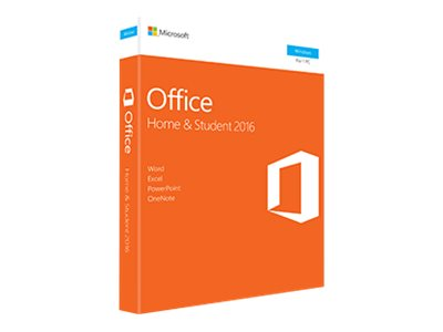 Microsoft Office Home and Student 2016 - Box-Pack - 1 PC - nicht-kommerziell - ohne Medien, P2 - Win
