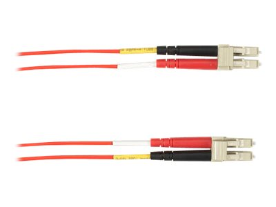 Black Box - Patch-Kabel - LC Single-Modus (M) bis LC Single-Modus (M) - 3 m - Glasfaser - Rot
