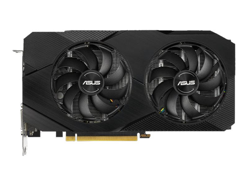 ASUS DUAL-GTX1660-A6G-EVO - Advanced Edition - Grafikkarten - GF GTX 1660 - 6 GB GDDR5 - PCIe 3.0 x16