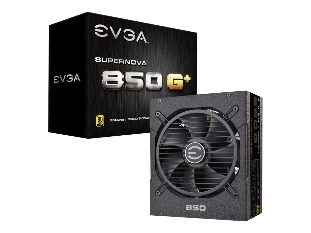 EVGA SuperNOVA 850 G1+ - Stromversorgung (intern) - ATX / EPS - 80 PLUS Gold - Wechselstrom 100-240 V - 850 Watt