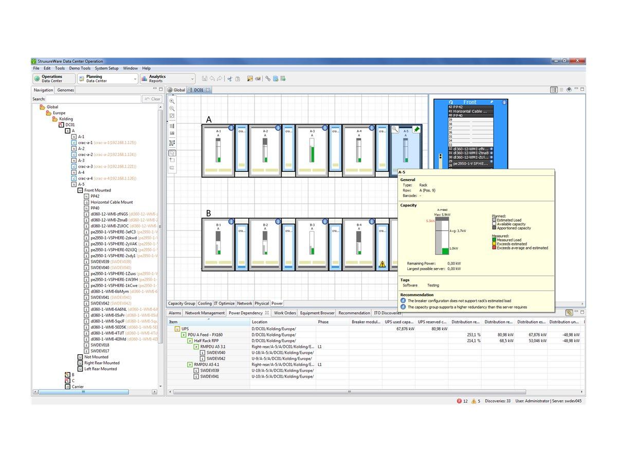 APC Data Center Operation IT Power Control - Lizenz - 10 Racks