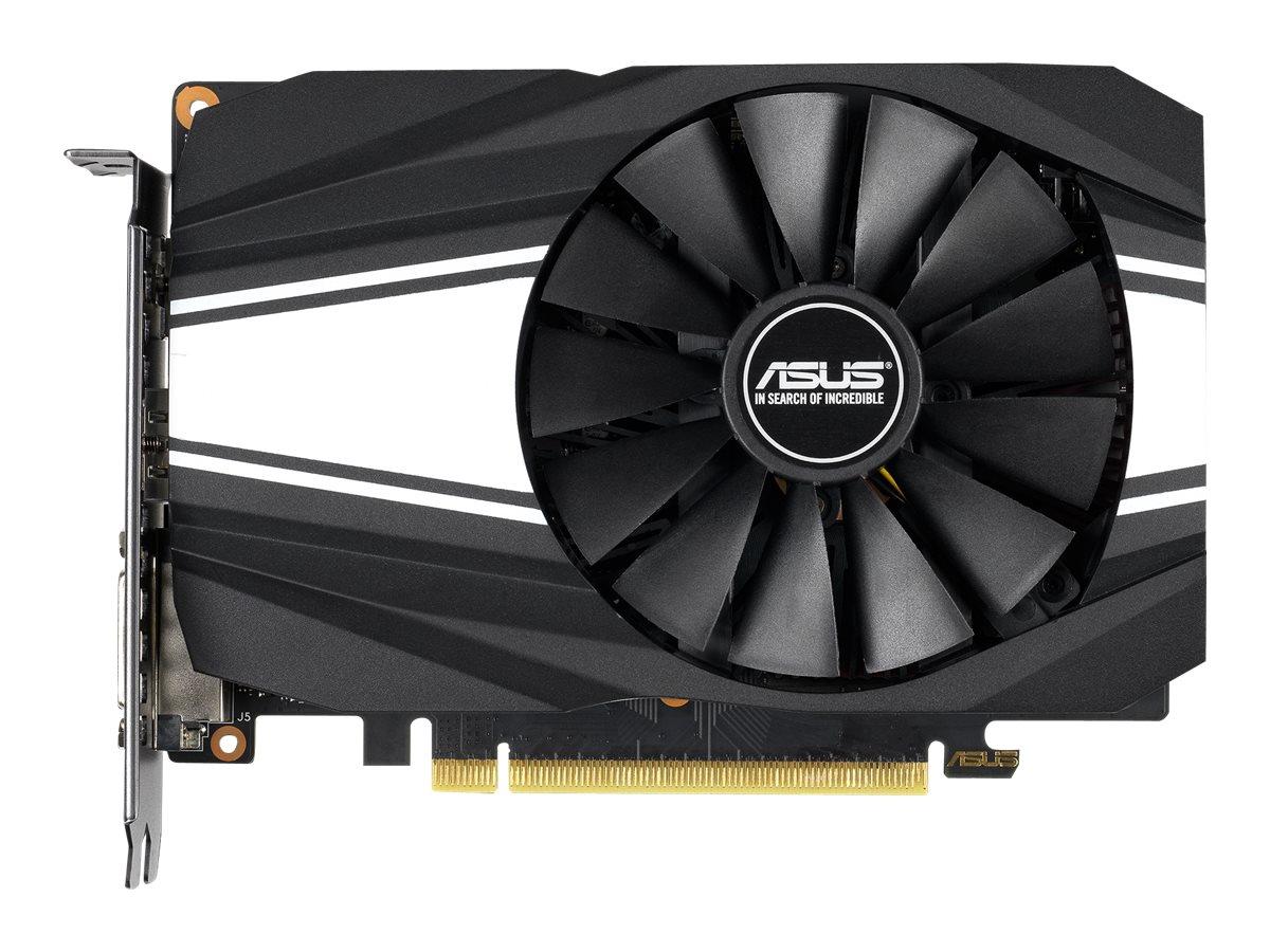 ASUS PH-GTX1660TI-O6G - Grafikkarten - GF GTX 1660 Ti - 6 GB GDDR6 - PCIe 3.0 x16 - DVI, 2 x HDMI, DisplayPort