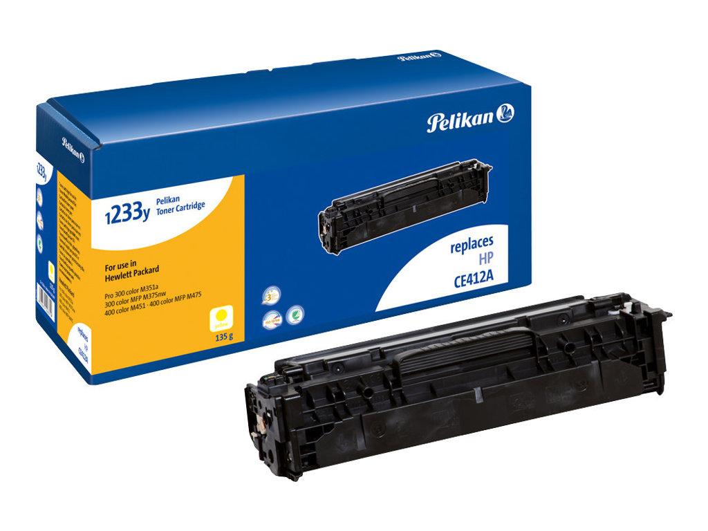 Pelikan 1233y - Gelb - Tonerpatrone (Alternative zu: HP 305A) - für LaserJet Pro 300 color M351a, 300 color MFP M375nw, 400 colo