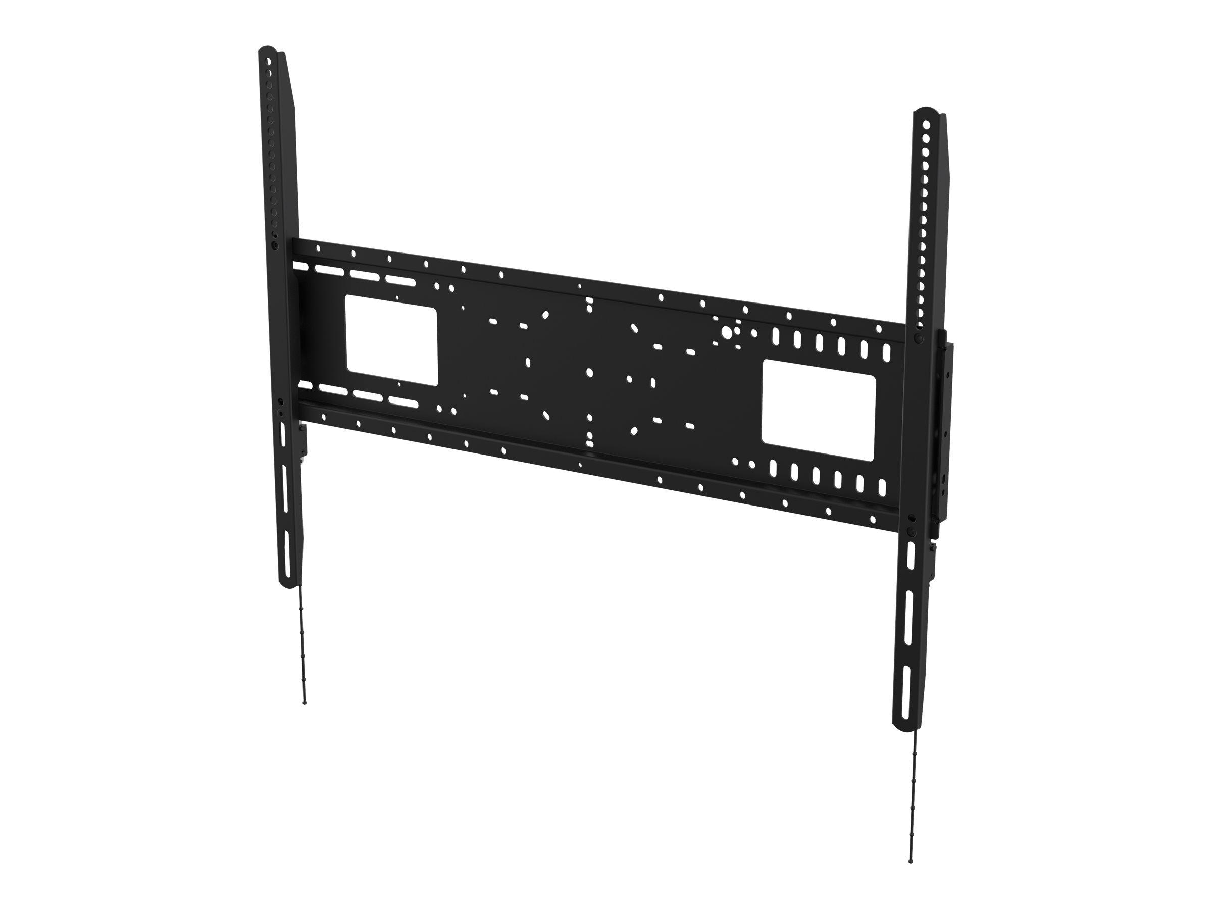 Vision VFM-W8X6 - Heavy Duty - Wandhalterung für Media Player / LCD-Display - kaltgewalzter Stahl - Schwarz - Bildschirmgrösse:
