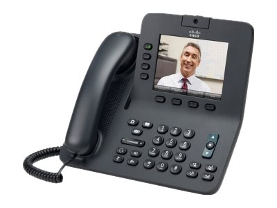 Cisco Unified IP Phone 8945 Standard - IP-Videotelefon - SCCP, SIP - mehrere Leitungen