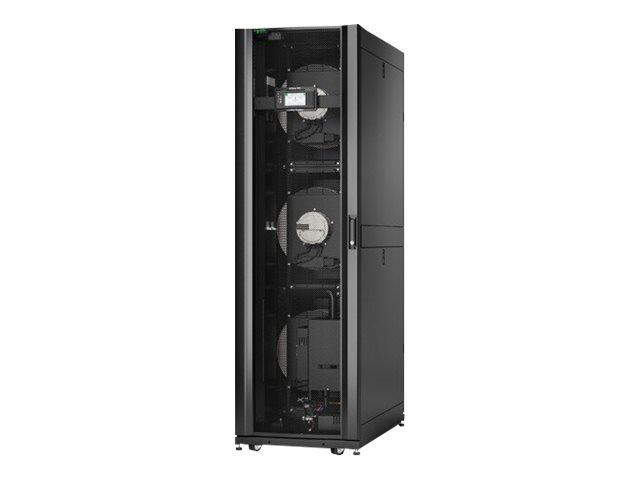 APC InRow RC - Gekühltes Wasser für Rack-Klimaanlagen-Kühlsystem - 460 - 480 V - Schwarz - 42HE