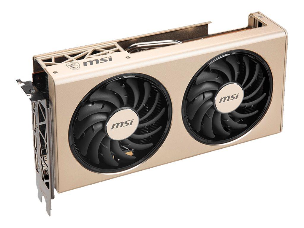 MSI RX 5700 XT EVOKE OC - Grafikkarten - Radeon RX 5700 XT - 8 GB GDDR6 - PCIe 4.0 x16 - HDMI, 3 x DisplayPort