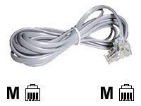 Lindy - Telefonkabel - RJ-10 (M) bis RJ-10 (M) - 10 m
