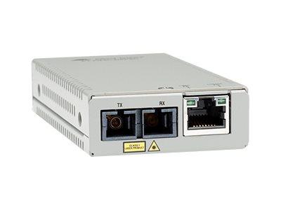 Allied Telesis AT MMC200LX/SC - Medienkonverter - 100Mb LAN - 10Base-T, 100Base-TX, 100Base-LX, 100Base-SC - RJ-45 / LX/SC Singl