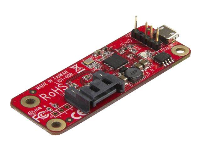 StarTech.com USB auf SATA Konverter für Raspberry Pi und Entwicklungsboard - USB zu SATA Adapter für Raspberry Pi - Speicher-Con