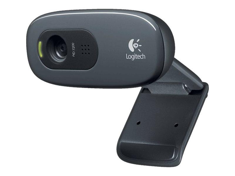 Logitech HD Webcam C270 - Web-Kamera - Farbe - 1280 x 720 - Audio - USB 2.0