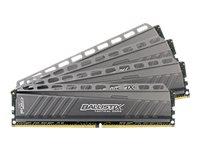 Ballistix Tactical - DDR4 - 32 GB: 4 x 8 GB - DIMM 288-PIN - 2666 MHz / PC4-21300 - CL16