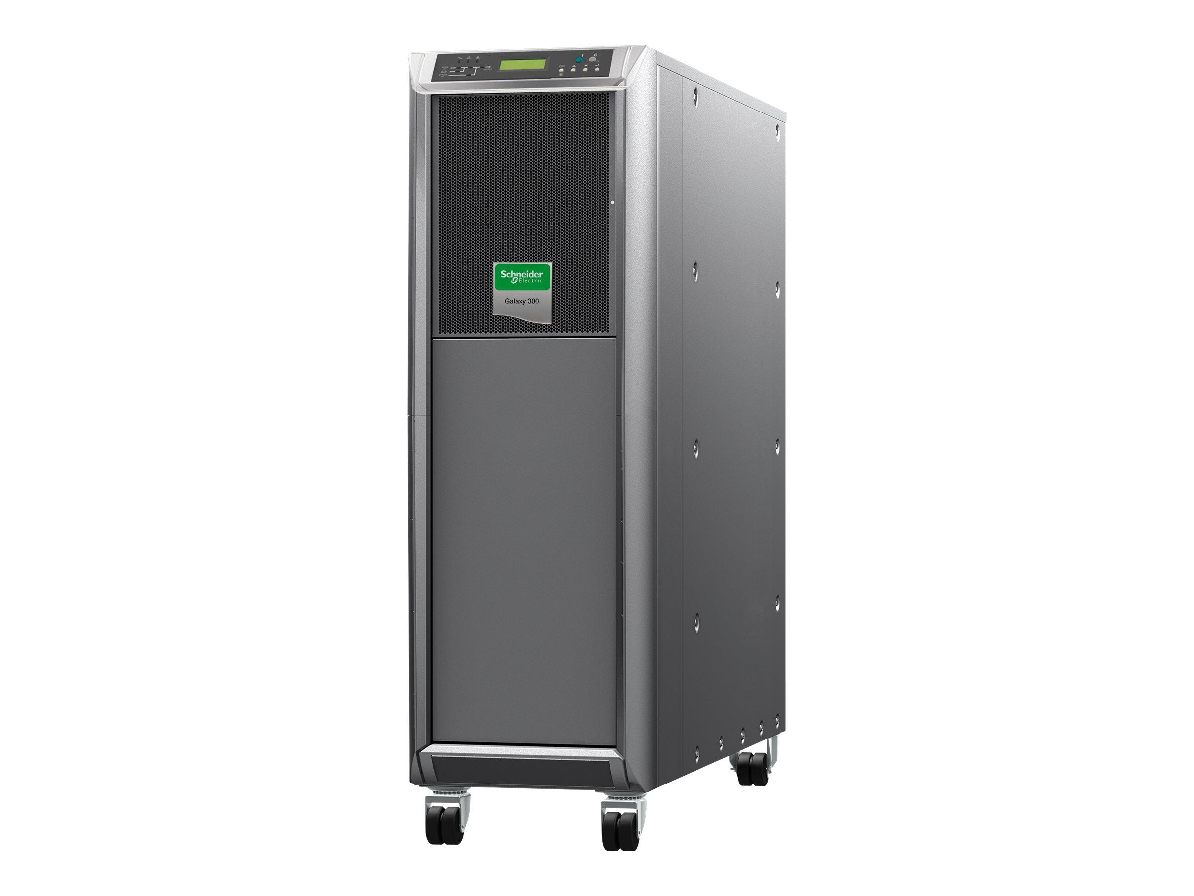 MGE Galaxy 300 - USV - Wechselstrom 380/400/415 V - 12 kW - 15000 VA - 3 Phasen
