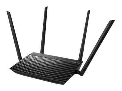 ASUS RT-AC51 - Wireless Router - 4-Port-Switch - 802.11a/b/g/n/ac - Dual-Band