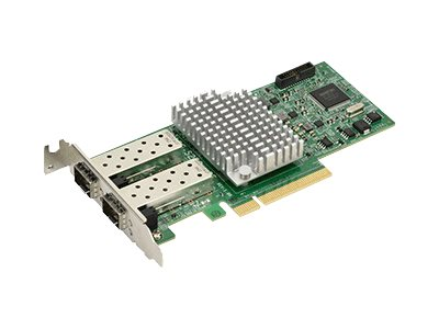 Supermicro Add-on Card AOC-S25G-m2S - Netzwerkadapter - PCIe 3.0 x8 Low-Profile - 25 Gigabit SFP28 x 2