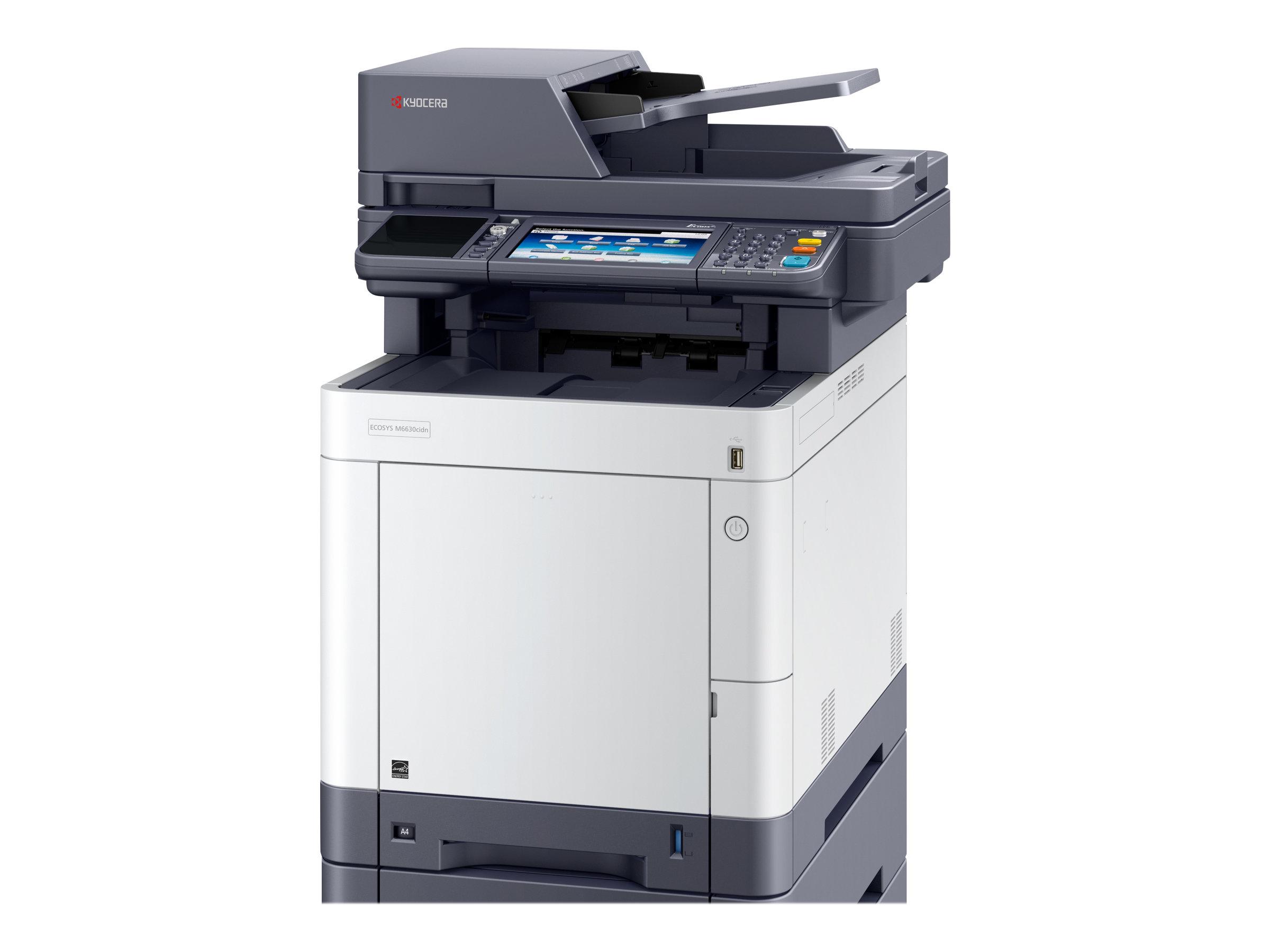 Kyocera ECOSYS M6630cidn - Multifunktionsdrucker - Farbe - Laser - Legal (216 x 356 mm)/A4 (210 x 297 mm) (Original) - A4/Legal
