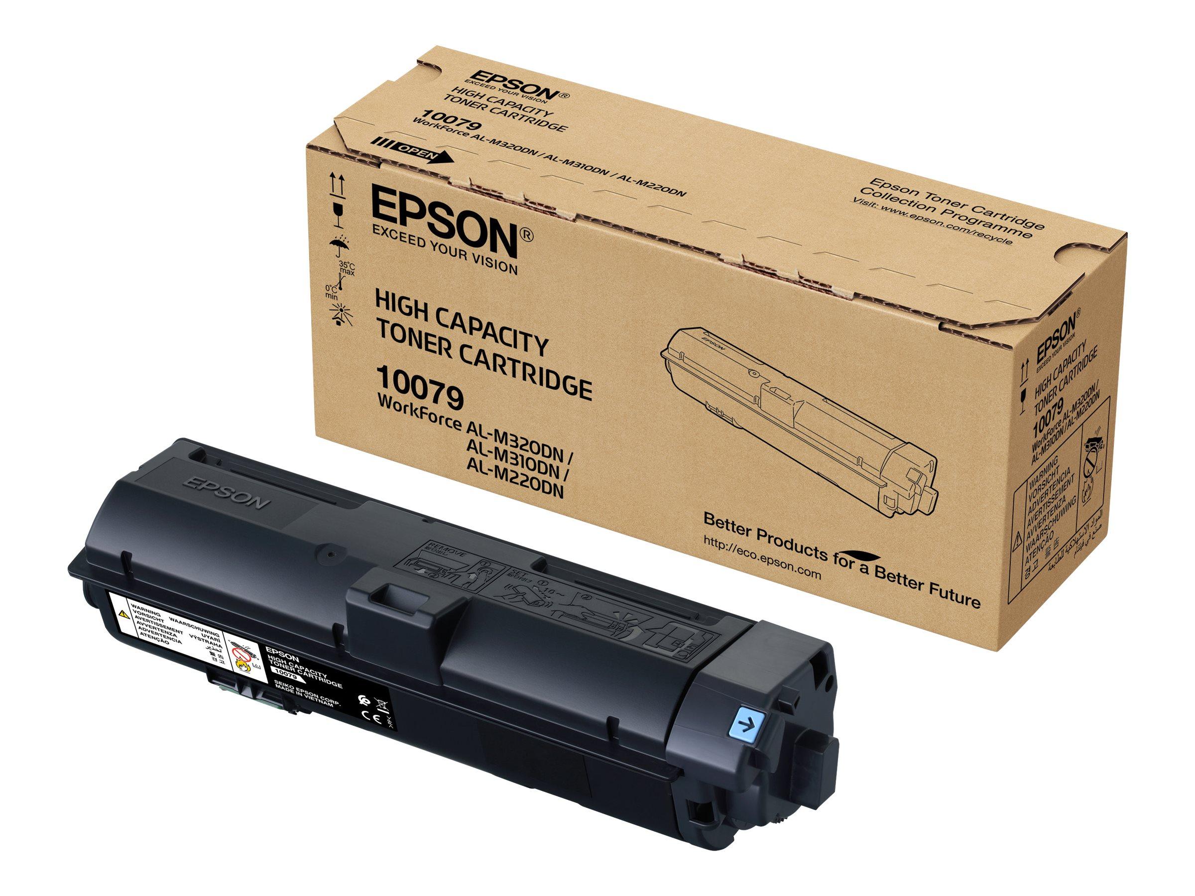 Epson WorkForce AL-M320DTN - Drucker - monochrom - Duplex - Laser - A4/Legal