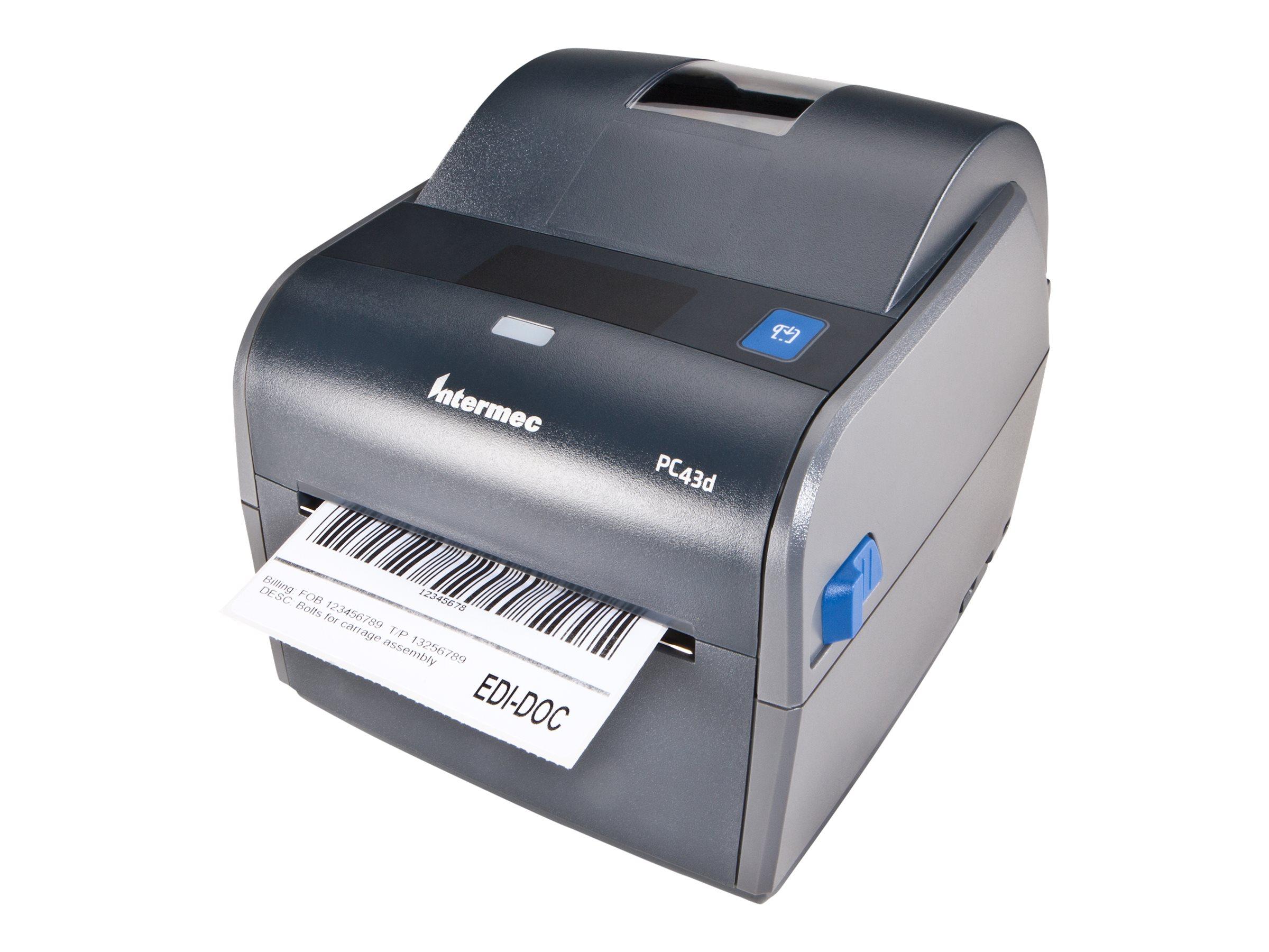 Intermec PC43d - Etikettendrucker - Thermodirekt - Rolle (11,8 cm) - 203 dpi - bis zu 203.2 mm/Sek.