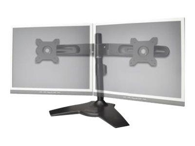 DIGITUS DA-90322 - Aufstellung für 2 LCD-Displays - Stahl, Aluminiumlegierung - Bildschirmgrösse: 38.1-61 cm (15