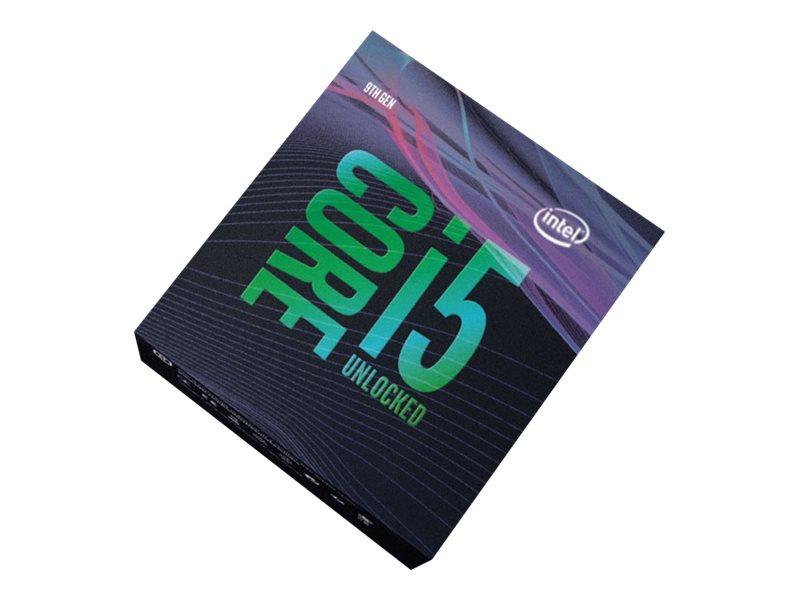 Intel Core i5 9600K - 3.7 GHz - 6 Kerne - 6 Threads - 9 MB Cache-Speicher - LGA1151 Socket