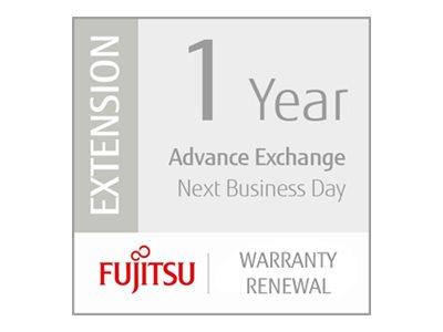 Fujitsu Scanner Service Program 1 Year Warranty Renewal for Fujitsu Mobile Scanners - Serviceerweiterung (Erneuerung) - Austausc