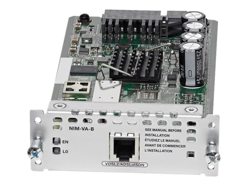 Cisco 1-port VDSL2/ADSL2+ over ISDN with Annex B/J - DSL-Modem - Network Interface Module (NIM)