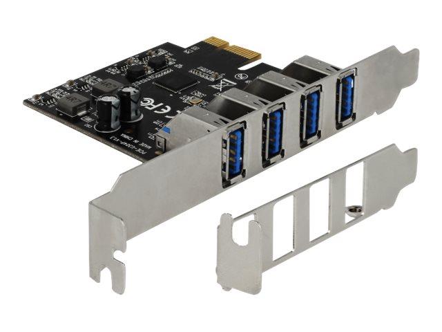 DeLOCK - USB-Adapter - PCIe 2.0 Low-Profile - USB 3.0 x 4