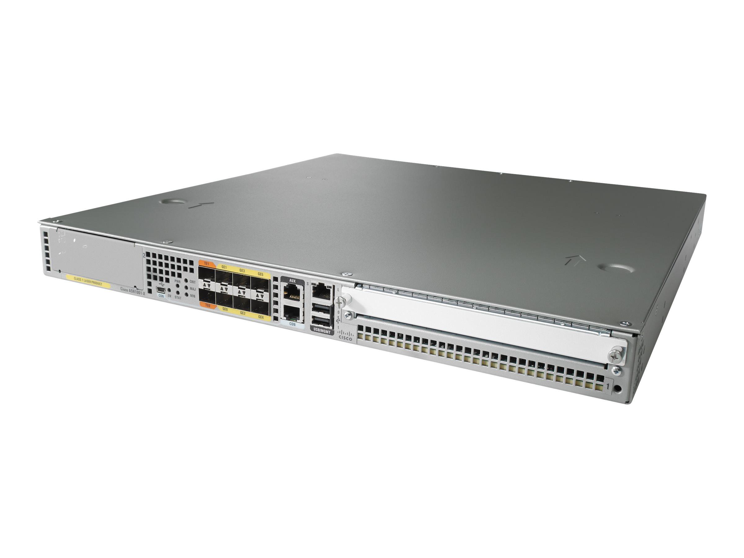 Cisco ASR 1001-X - Router - GigE - an Rack montierbar