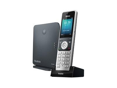 Yealink W60P - Schnurloses VoIP-Telefon - IP-DECT\GAP - SIP, SIP v2 - 8 Leitungen