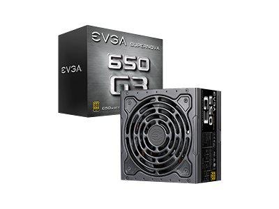 EVGA SuperNOVA 650 G3 - Stromversorgung (intern) - ATX12V / EPS12V - 80 PLUS Gold - Wechselstrom 100-240 V - 650 Watt