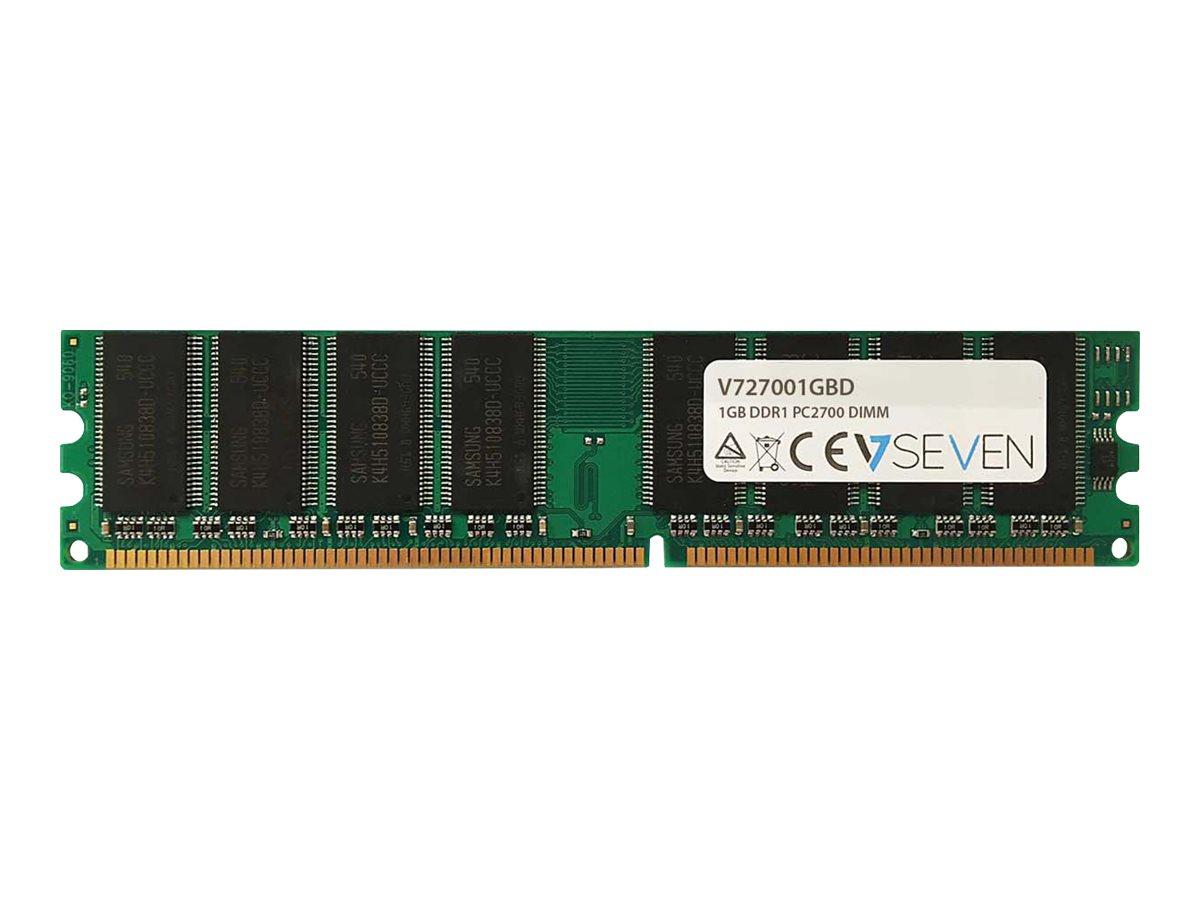 V7 - DDR - 1 GB - DIMM 184-PIN - 333 MHz / PC2700 - ungepuffert
