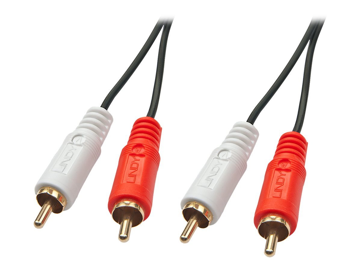 Lindy Premium - Audiokabel - RCA x 2 (M) bis RCA x 2 (M) - 5 m