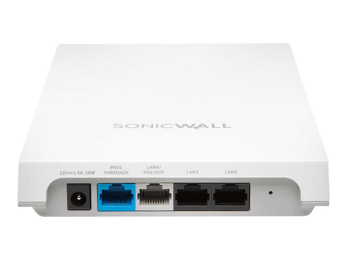 SonicWall SonicWave 224w - Funkbasisstation - mit 3 Jahre Secure Cloud WiFi Management and Support - 802.11ac Wave 2 - Wi-Fi 5 -