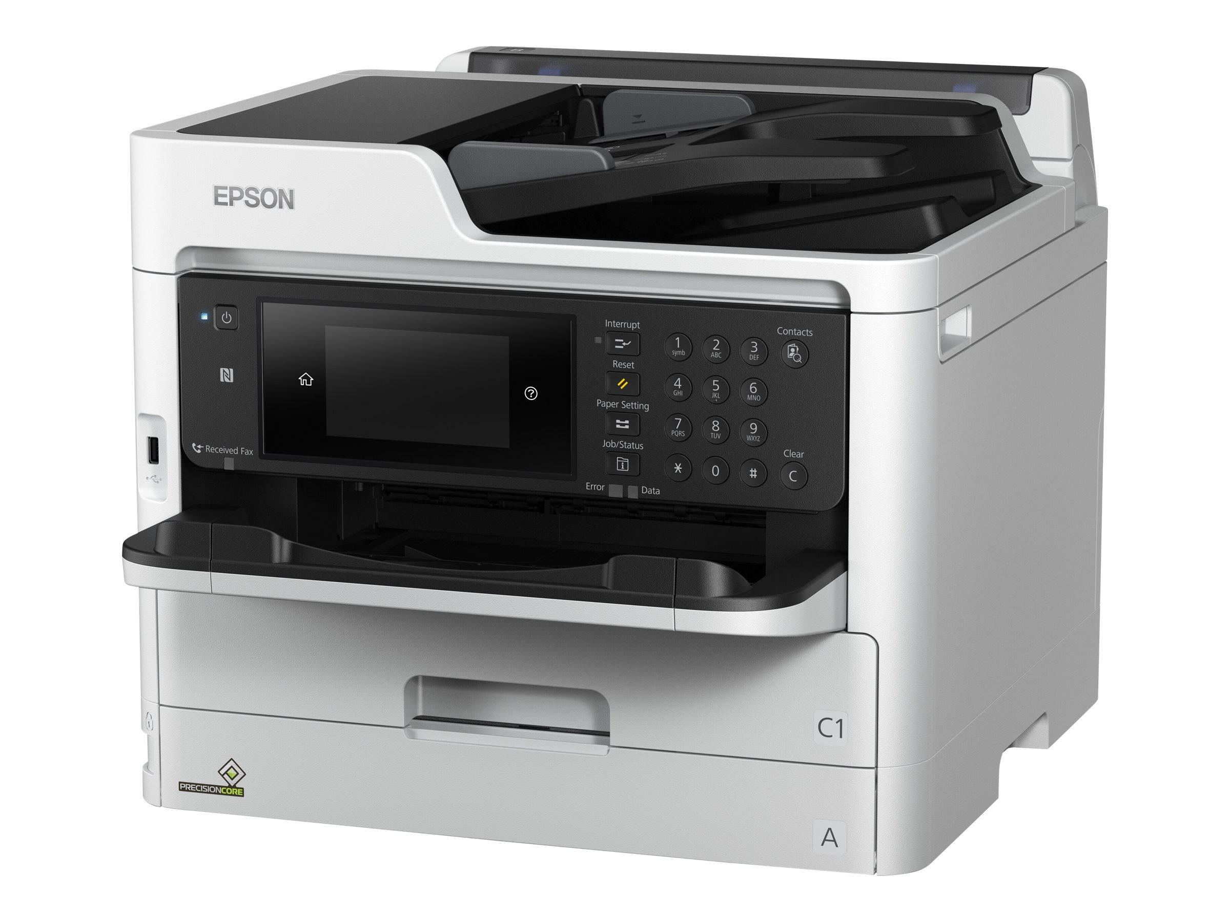 Epson WorkForce Pro WF-M5799DWF - Multifunktionsdrucker - s/w - Tintenstrahl - A4 (210 x 297 mm) (Original) - A4/Legal (Medien)