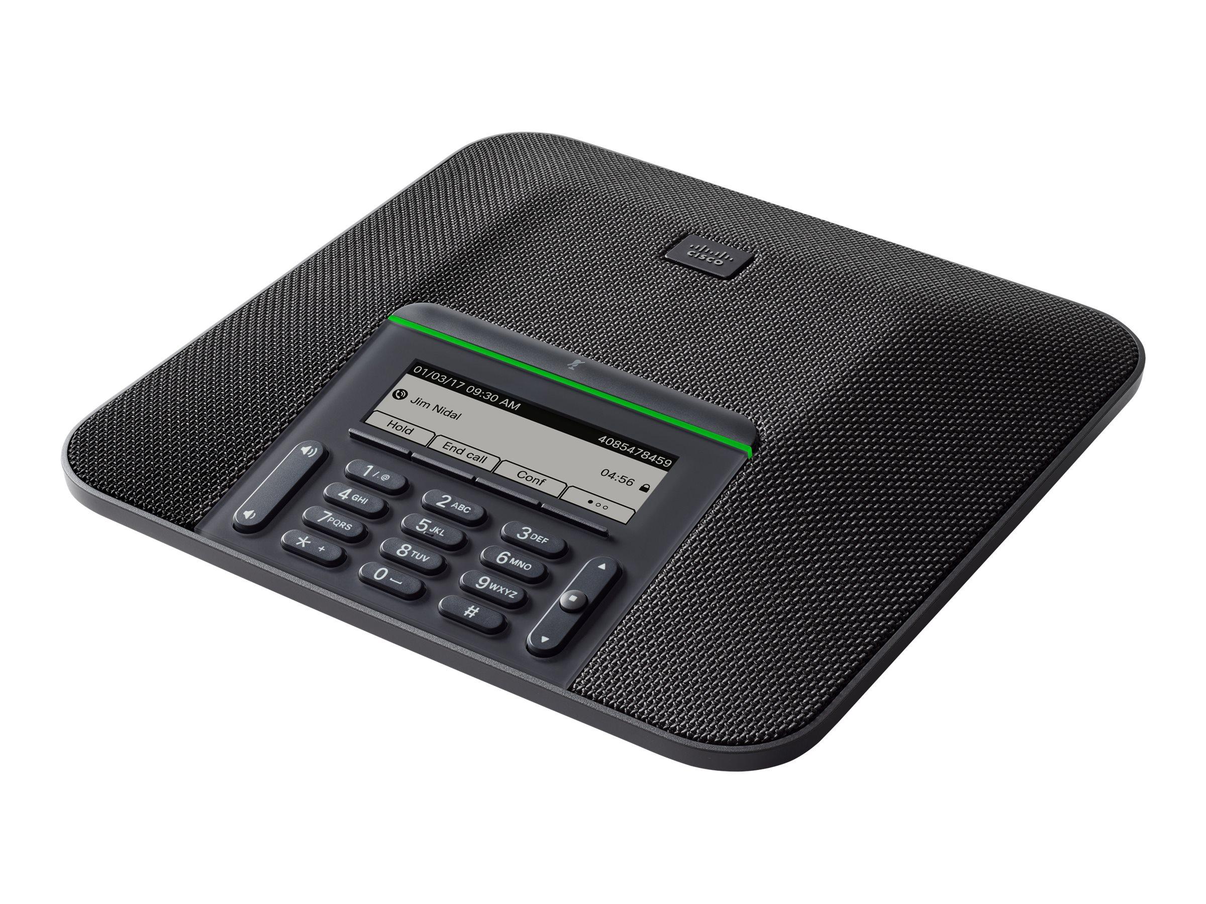 Cisco IP Conference Phone 7832 - VoIP-Konferenztelefon - SIP, SDP - smoke