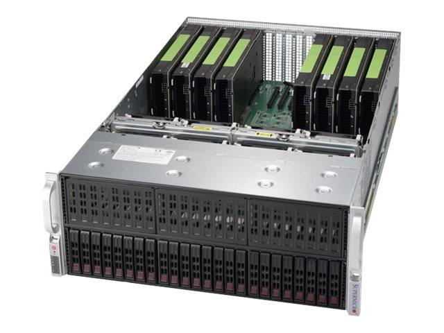 Supermicro SuperServer 4028GR-TRT2 - Server - Rack-Montage - 4U - zweiweg - RAM 0 MB