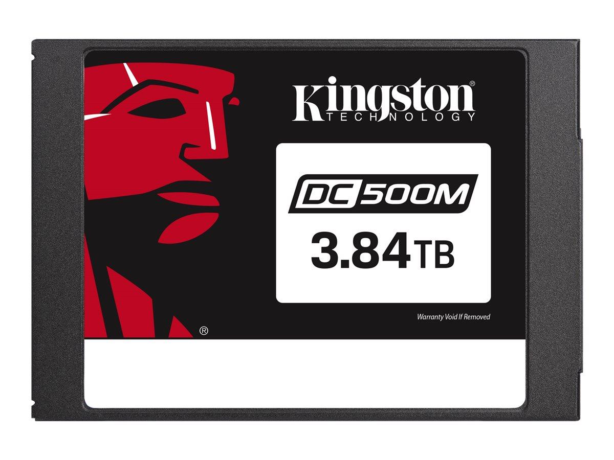 Kingston Data Center DC500M - Solid-State-Disk - verschlüsselt - 3.84 TB - intern - 2.5